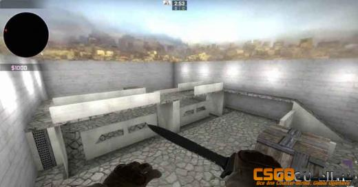 Карта для игры 1 на 1 в CS:GO - am_cobble