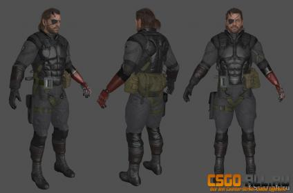 Скин для CS:GO - Venom Snake Sneaking suit