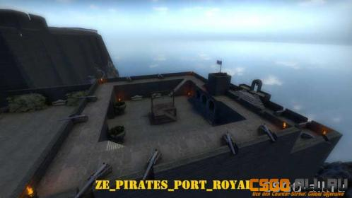 Карта для CS:GO - ze_Pirates_Port_Royal
