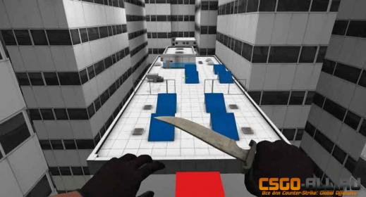 Карта для CS:GO - bhop_MirrorsEdge