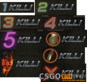 Плагин Killing Messages CS:GO