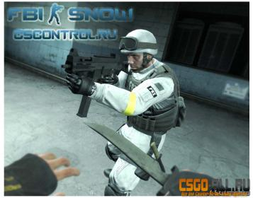 Модель для CS:GO - FBI Snow Skin
