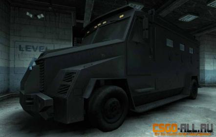 Текстуры для CS:GO - Black Enforcement Van