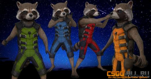 Скин для CS:GO - Rocket Raccoon
