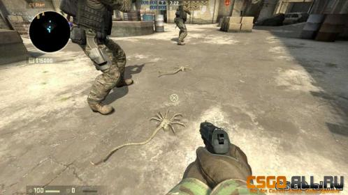 Модели для CS:GO – Facehugger