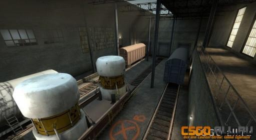 Карта для CS:GO - de_train_se