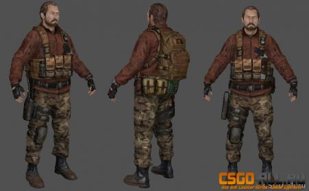 Скин игрока CS:GO - Barry Burton