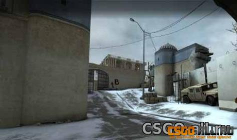 Карта для CS:GO - de_dust2_winter