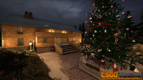 Карта Mansion Winter для cs go