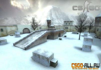 Карта для CS:GO - awp_india_winter